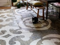 Carport Floor Ideas On Pinterest Stenciled Floor