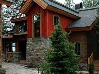 rustic cabin lodge style