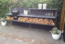 Outdoor kitchen / barbecue