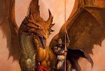 Knights, Vikings, Warriors, & Dragons / by Randy Alvarez