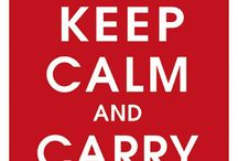 Keep Calm Spoofs / Keep calm and...what was it again?