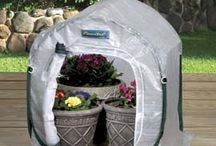 Pop-Up Greenhouses & Accessories / FlowerHouse's wide line of greenhouses and their accessories, perfect for the home gardener