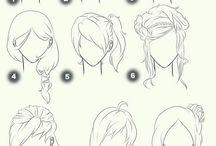 rysowanie fryzur