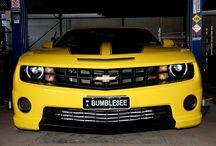 Cars We Love / Nissan R35 GTR Godzilla RIcer Lancer Black GTR, Yellow Camaro Bumblebee, Blue Lancer. high performance car enthusiast.