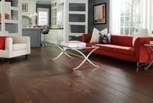 Dark Brown Wooden Floor Rooms