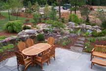 Ponds / Create a peaceful water feature in your yard.