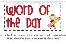 3rd grade word work / by Amy Bogart