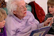 School - activiteiten / Bezoek ouderencentra