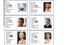 famous people id cards