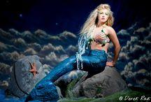 Mermaid / fotoshoot mermaid voorbeelden