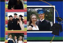 Scrapbook-graduation