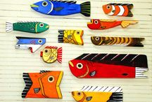 fish art / by Cathy O'Dell