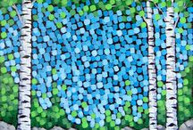 summer landscape paintings