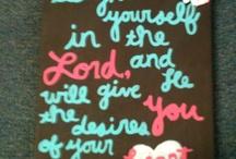 Bible verses  / by Amanda Pollmann