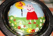 Le mie torte / Amo realizzare la torta per il compleanno delle mie principesse!