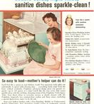 Frigidaire Dishwashers / Magazine Advertisements featuring Frigidaire Dishwashers! Enjoy these vintage ads for the Frigidaire Dishwasher! And remember to visit www.magazine-advertisements.com to view, download, or print the Full-Size image! / by Advertisement Gallery