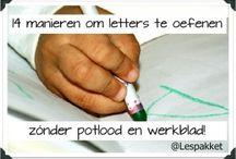 School - schrijven