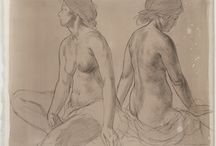 Patricia Watwood - Drawings / In charcoal and pencil / by Patricia Watwood