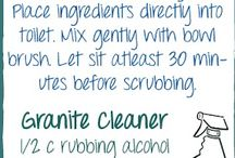 HOUSEHOLD DIY RECIPES / All natural cleaning.  / by Thera Smith