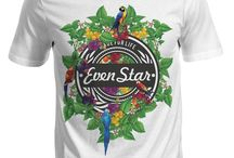 EVENSTAR / T-shirt EvenStar Paris..New print,new design