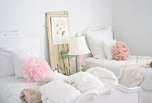 Girly Room Inspiration / Girl friendly design, pink rooms, feminine design, beautiful spaces, bedroom design, children's rooms.