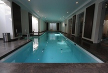 Indoor Pools / Beautiful indoor pools designed and built by Gib-San Pools - see more at http://pooldesignandbuild.ca/pool-design/indoor-pool-design