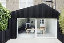 New home / Inspiration for a country house renovation in the style of Swedish weatherboard architecture