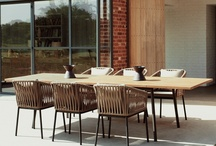 Outdoor table options / by Leigh Dove