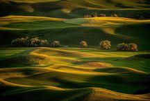 wonderful, amazing, landscapes