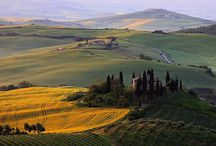 Tuscany, Italy ~ Places visited / Tuscany is known for its gorgeous landscapes, its rich artistic legacy and its influence on high culture. Tuscany is regarded as the true birthplace of the Italian Renaissance, and has been home to some many influential people in the history of arts and science, such as Petrarch, Dante, Botticelli, Michelangelo, Niccolo Machiavelli, Leonardo da Vinci, Galileo Galilei, Amerigo Vespucci, Luca Pacioli and Puccini.