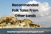 Folk Tales, Tall Tales, and Legends / Lesson ideas for teaching folk tales, tall tales, and legends.