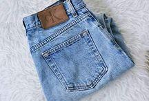 jeans & tekkies