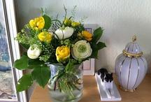 Blumen Thema mit Variationen / Ich liebe Blumen - und in meiner Küche Abwechslung.