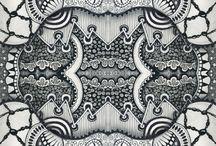 Zentangle / Un peu de dessin ?