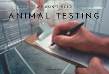 Cruelty Free Cosmetics / There is no need for animal testing to keep happening in the cosmetics industry! Share the news! Raise awareness!