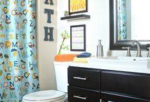 Kids bathroom  / by Brittani Macey