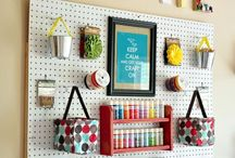 craft room / by Alli Kraeling