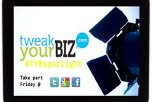 #TYBspotlight / Tweak Your Biz is looking for people, businesses, start-ups or even great business ideas to feature. Using the hashtag: #TYBspotlight and our social media channels: Facebook, Twitter and Google+ just get in touch. See more here - http://tweakyourbiz.com/announcements/2013/09/16/get-featured-on-tweak-your-biz-introducing-tybspotlight/