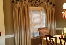 Window Treatments / by Cheryl Karpha