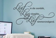 Afrikaans Wall Stickers / Afrikaans Wall Stickers and Decals, wall quotes afrikaans