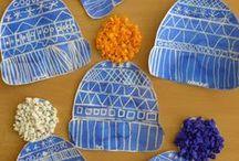 Winterbastelarbeiten