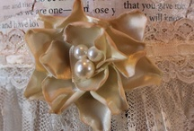 Embellishments/flowers  / by Catherine Lantiegne