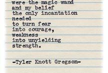 Tyler Knott Gregson ❤️ / Typewriter Series