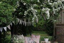 La Brocante s'invite au jardin mai 2015 / Vente éphémère à l'armoire de Camille mi mai 2015