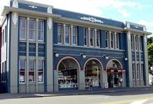 Art Deco Buildings- Napier