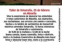 Taller de fotografía en Algueña.
