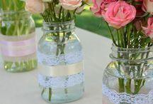 ideas con frascos