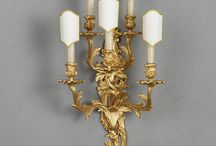 Our Appliques / All our sconces are handmade using traditional techniques and based on original antique models.
