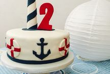 Nautical-themed Party and Cakes / ahooyyy there!