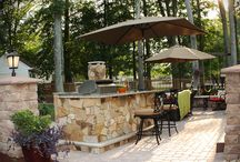 Fireplace and Grills / YORKTOWN MATERIALS OUTDOOR LIVING